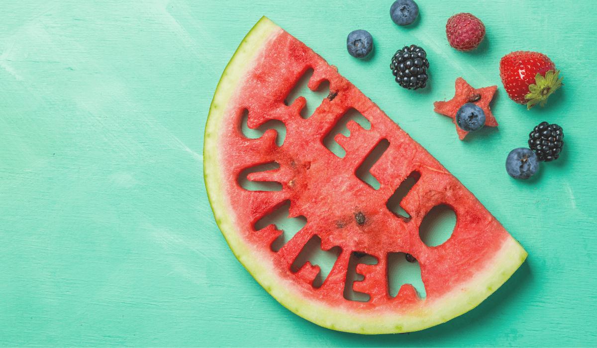 Diététique et énergétique : mes conseils pour l'été !